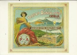 ( PUBLICITE )( AFFICHES ) (ITALIE )( PATES AGNESI ) ANNEE 1920 - Pubblicitari