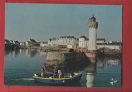 PRESQU' ILE   DE QUIBERON      Port  - Haliguen Le Vieux Port Et Le Phare     56 - Quiberon