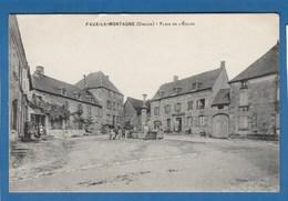 FAUX LA MONTAGNE PLACE DE L'EGLISE - Andere Gemeenten