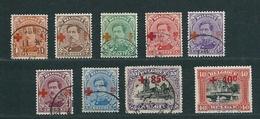 [2139] Zegels 150 - 158 Gestempeld - 1918 Croix-Rouge