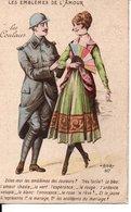 CPA Militaria Humoristique : Les Couleurs - Guerre 1914-18