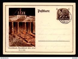 DR Postkarte P 250 Von LIMBURG (LAHN) Nach Ulm - 6.2.34 - Enteros Postales