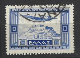 Grecia - 1933 - Usato/used - Airmail - Mi N. 365 - Gebruikt