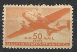 USA - 1941 - Nuovo/new MH - Airmail - Mi 506 - Scott C31 - Posta Aerea