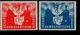 DDR 284 - 285 Deutsch - Polnische Freundschat Postfrisch ** MNH Neuf - Ongebruikt