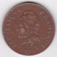 Polynésie Francaise . 100 Francs 1991, Cupro-nickel-aluminium - Polynésie Française