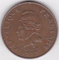Polynésie Francaise . 100 Francs 1999, Cupro-nickel-aluminium - Polynésie Française