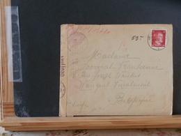 51/740  LETTRE ALLEMAGNE POUR LA BELG.  CENSURE 1943 - Lettres & Documents