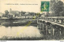51.  MARCILLY SUR SEINE .  Confluent De La Seine Et De L'Aube . - France