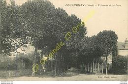 45.  COURTENAY .  Avenue De La Gare . - Courtenay