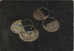 Post Card. Saudi Arabia. Jewelry. Bedouin Silver Pendants. Average Condition. Spots. Dehorned. - Artigianato