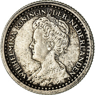 Monnaie, Pays-Bas, Wilhelmina I, 10 Cents, 1919, TTB, Argent, KM:145 - [ 3] 1815-… : Royaume Des Pays-Bas