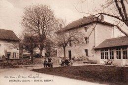 38  PRESSIEU  Hôtel Rhône - Otros Municipios