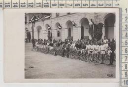 MILITARI REGGIMENTI CICLISMO RADUNO CASERMA BERSAGLIERI FOTO CARTOLINA TORINO - Regiments