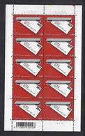 Belgie -Belgique 3780 Velletje Van 10 Postfris - Feuillet De 10 Timbres Neufs  Europa - Feuilles Complètes