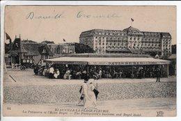 Cpa Deauville La Patisserie Et L Hotel Royal - Deauville