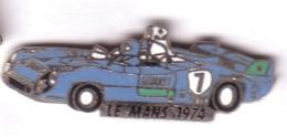 L96 Pin's LE MANS 74 PESCAROLO LAROUSSE MATRA SIMCA Egf Non Signé GITANES Achat Immédiat Immédiat - Rallye