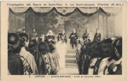D28 - CHARTRES-CONGREGATION DES SOEURS DE SAINT PAUL-JAPON-SAINTE ENFANCE VISITE DU MARECHAL JOFFRE - Chartres