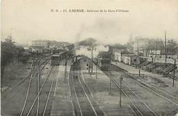 49  SAUMUR - INTERIEUR DE LA GARE - Saumur