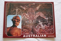 CPM - Australian Aborigene, Peintures Aborigènes Et Chef Tribal - Aborigenes