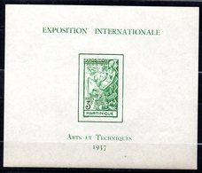 Col17  Colonie Martinique  N° BF1 BF 1  Neuf XX MNH  Cote 15,00€ - Martinique (1886-1947)