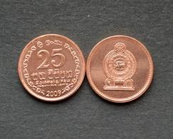 Sri Lanka 25 Cents Km141 UNC COIN ASIA CURRENCY Random Year - Sri Lanka
