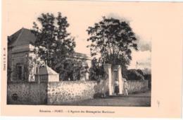 C01 - COPIE CPA - Port - L'agence Des Messageries Maritimes - La Réunion