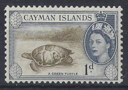 """CAYMAN ISLANDS.......QUEEN ELIZABETH II.(1952-NOW)...."""" 1953.""""......1d.........SG150.......MH.... - Cayman Islands"""