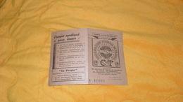 CARTE CONFEDERALE DE 1947...CONFEDERATION GENERALE DU TRAVAIL CGT...PARIS 10e.. - Old Paper