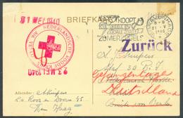 2de Wereld Oorlog - 2nd WORLD WAR - C.P. De 's Gravenhage Le 21-V-1940 + Dc Rouge NEDERLANDSCHE ROODE KRUIS AID. VENLO ( - Postal History
