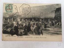 CPA MAROC - MARRAKECH - Le Mellah, Place Des Juifs - Marrakech