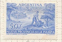 PIA - ARGENTINA -1956 :  Creazione Della Provincia Di La Pampa - (Yv  564) - Nuovi