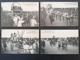 4 Cpa. Carnaval De 1908.Neuves. - Guipúzcoa (San Sebastián)
