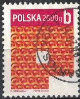 Pologne 2013 Oblitéré Used Polska 2000g Lettre B SU - Gebraucht