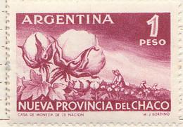 PIA - ARGENTINA -1956 :  Creazione Della Provincia Del Chaco - (Yv  565) - Nuovi