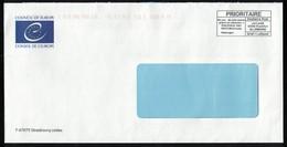 France EMA Empreinte Postmark Council Of Europe Conseil De L'Europe Strasbourg SU - Poststempel (Briefe)