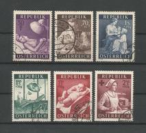 Austria - Oostenrijk 1954 Health Care Y.T. 832/837 (0) - 1945-.... 2nd Republic