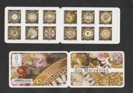 "FRANCE / 2019 / Y&T N° AA 1777/1788 ** En BC Ou BC1777 ** : ""Merveilles-Assiettes"" (Carnet Adhésif 12 TVP LV) X 1 - Markenheftchen"