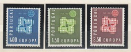 Portugal 1961 Michel Nr. 907-909 **, Postfrisch, MNH, CEPT EUROPA 888/90 - 1910-... Republik