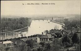 Cp Athis Mons Essonne, Panorama Sur Juvisy - Autres Communes