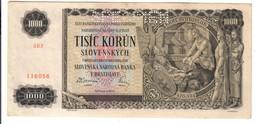 Slovacchia Slovakia  1000 Korun 25-11-1940 Specimenbb+ Pick#13  Lotto 3129 - Slowakei