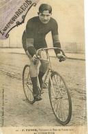 Luxembourg F.Faber Vainquer Du Tour De France 1909 Sur Bicyclette Aleyon état. - Ansichtskarten