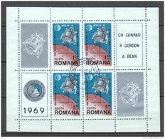 ROMANIA  Rumänien    Michel #  Block 74   Apollo 12 - Europa