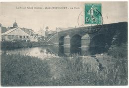 BAUDONCOURT - La Poste - Francia