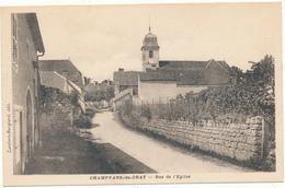 CHAMPVANS LES GRAY - Rue De L'Eglise - Francia