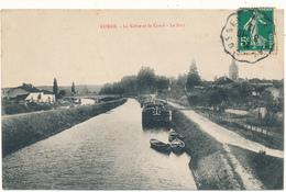 CORRE - La Saône Et Le Canal, Le Port - Francia