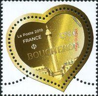 France N° 5293 ** Saint Valentin, Coeur De Boucheron Pour Lettre Plus 20gr - France
