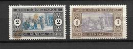 1914 -  France Sénégal / Marché Indigène / YT 53 54 /  MNH* - Neufs