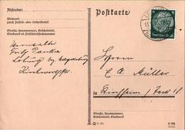 ! 1933 Postkarte Aus Loburg - Germany