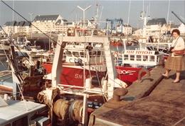 ¤¤  -  LA TURBALLE   -  Cliché Du Port  -  Bateau De Pêche  -  Voir Description     -  ¤¤ - La Turballe